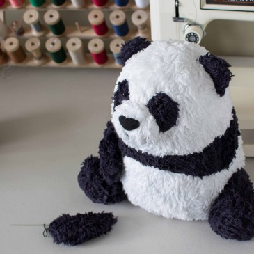 The Making of a OOAK Custom Organic Panda Bear