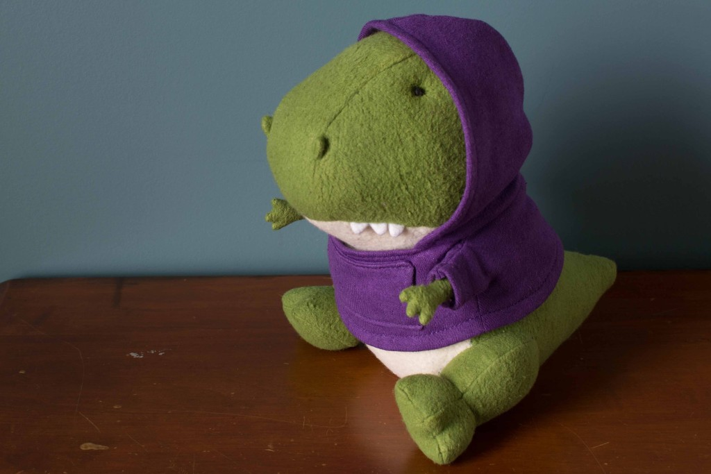 fat dinosaur organic stuffed animal fluffmonger