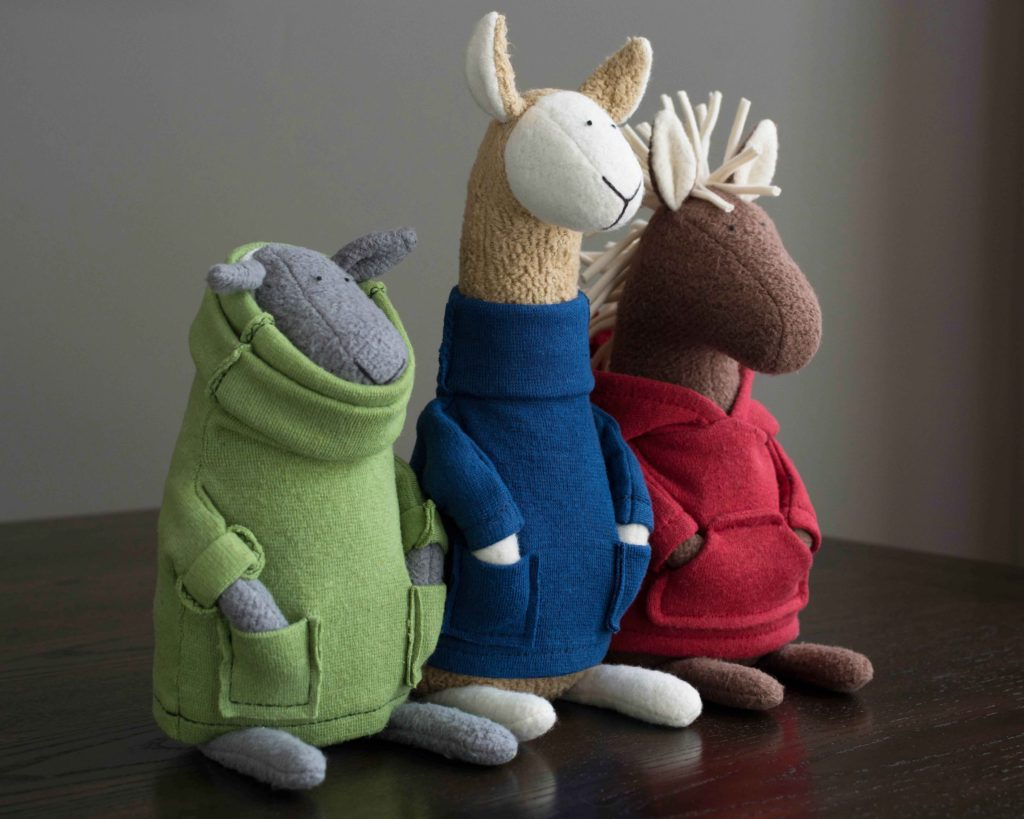 fluffmonger Kickstarter Children's Book Kickstarter Plush Organic stuffed animal