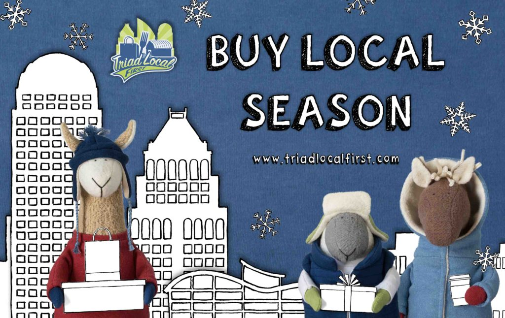 Buy Local Season TLF Fluffmonger