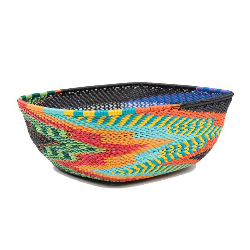 Baskets from Africa telephone-wire-basket-square-as