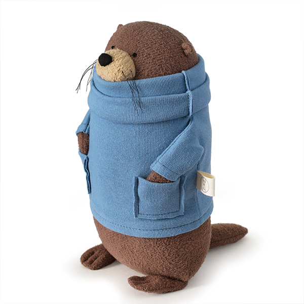 Madness! Poetry Organic Stuffed Otter Fluffmonger