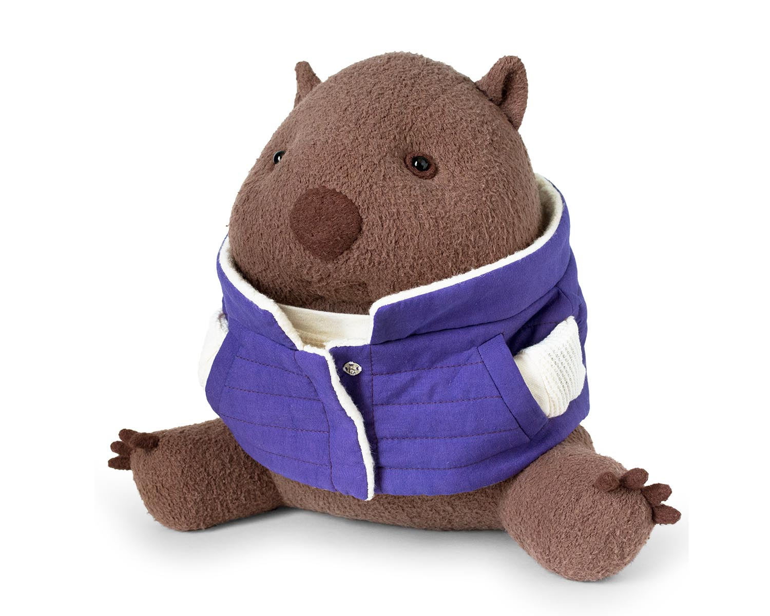 Blog organic stuffed wombat plush fluffmonger