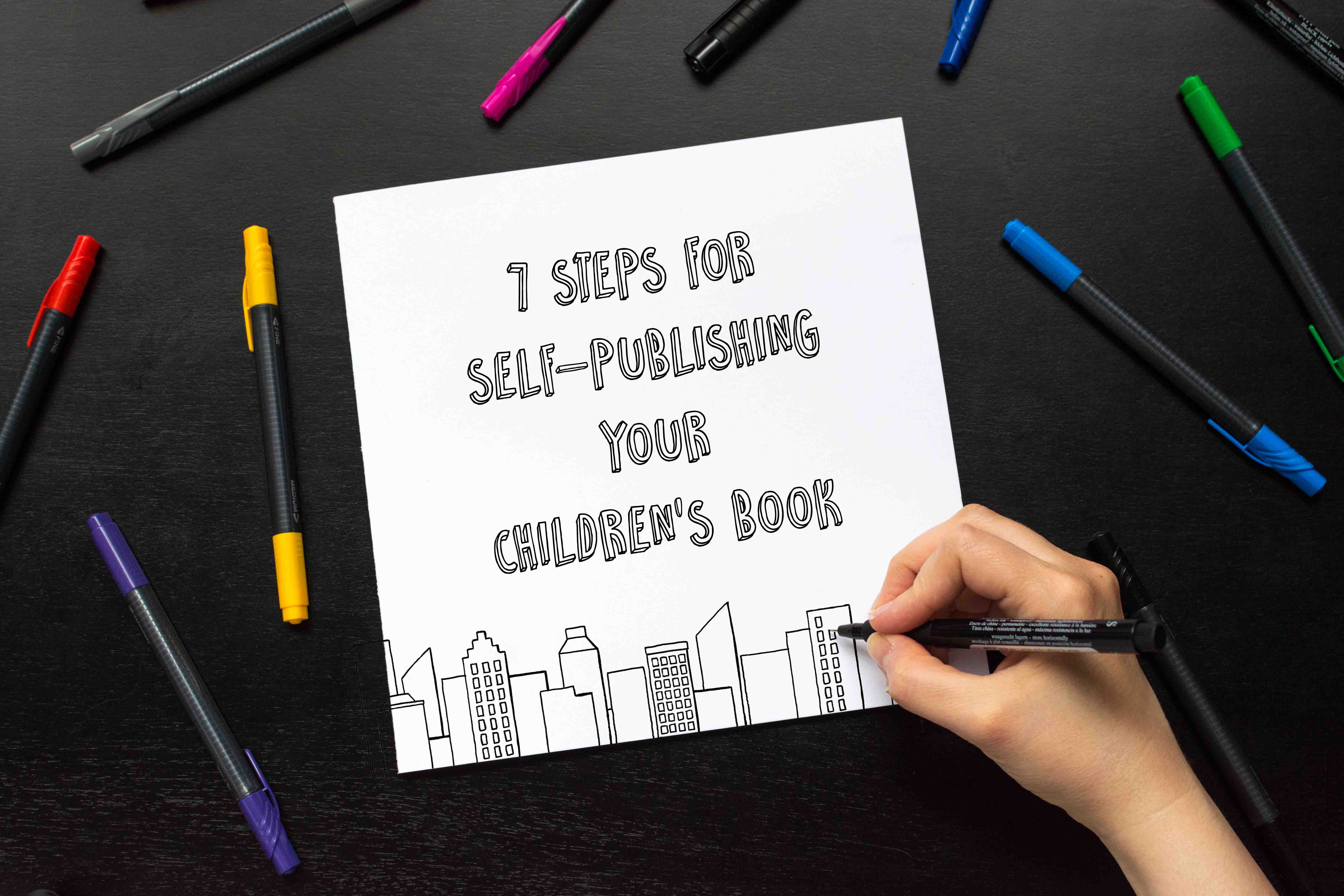 Steps for set-publishing your children's book fluffmonger