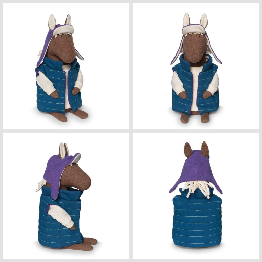 Baxter the Horse Limited Edition Organic Plush 2017 Fluffmonger