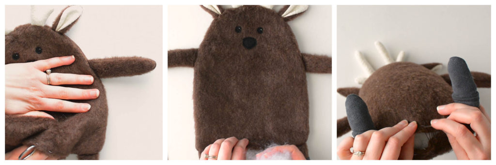 deer plush free sewing pattern and tutorial