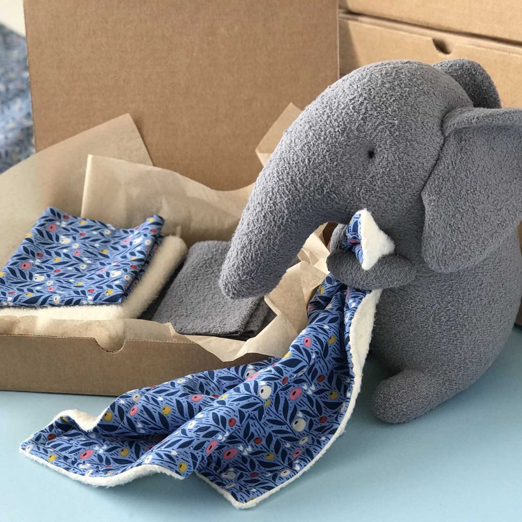 organic sewing supplies elephant kit
