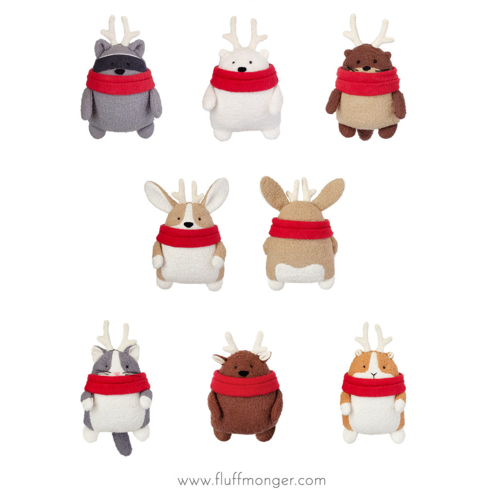 Free Christmas Plush Sewing Pattern and Tutorial - Full Size Plush ...