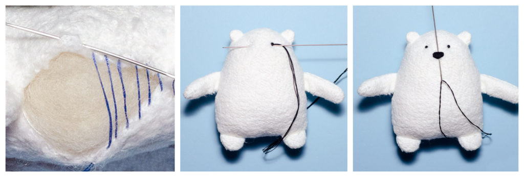 Mr Foofs The Polar Bear Free Sewing Pattern And Tutorial