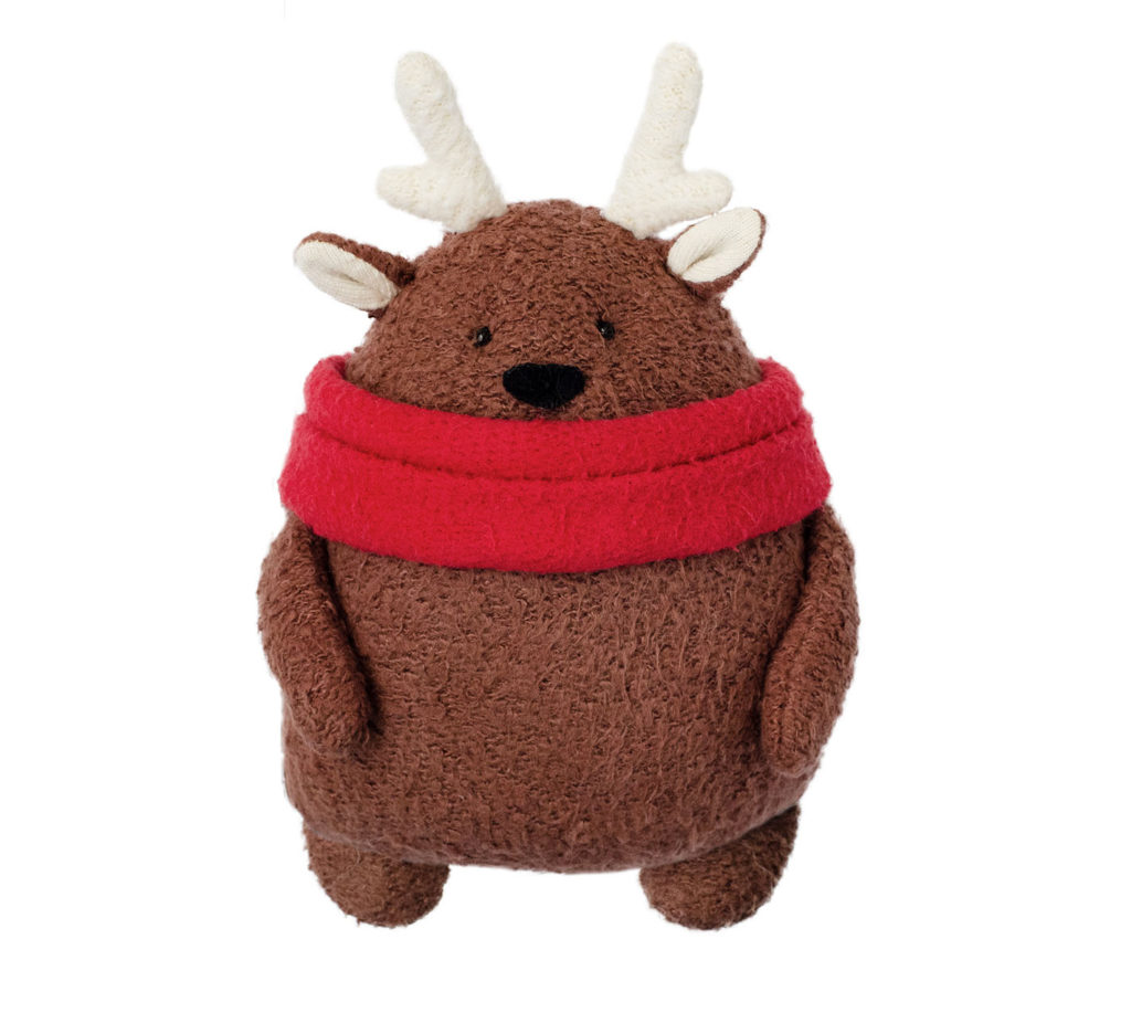 blog free reindeer sewing pattern and organic kit Fluffmonger